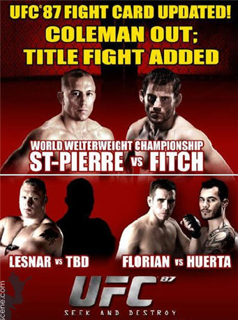 Ufc 87 results